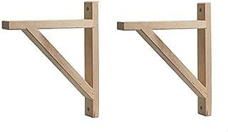 Best small wood shelf brackets Reviews