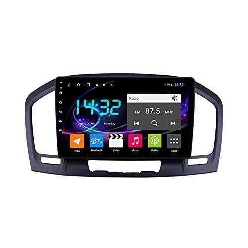 Android 10.0 Car Stereo Sat Nav Radio para Opel Insignia/Buick Regal 2009-2013 Navegación GPS 2 DIN 9 '' Unidad Principal Reproductor Multimedia MP5 Receptor de Video con 4G FM DSP WiFi SWC Carplay