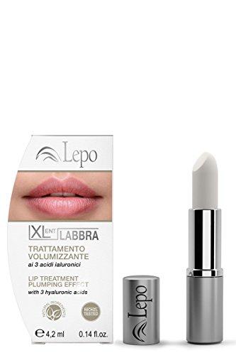 Lepo Xlent Labbra - Trattamento Volumizzante Labbra - 4 Ml