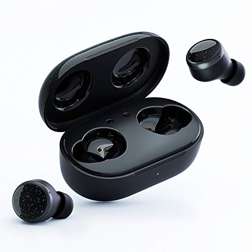 TANGMAI W0 Wireless Earbuds Bluetooth 5.0 Headphones with Microphone,...