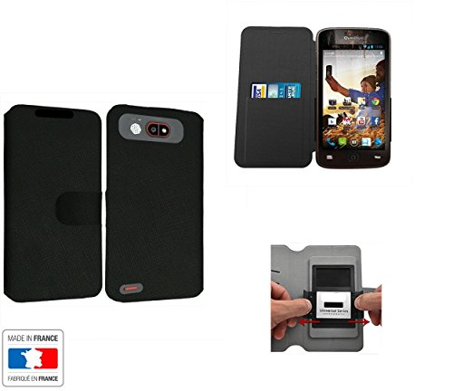 Case-Industry Decathlon Quechua Phone 5 - Funda protectora para teléfono móvil (tarjetero interno), color negro
