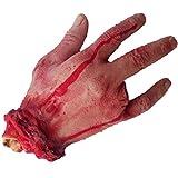 Bihood Abgetrennte Hand Hund Spielzeug Abgetrennte Hand Prop Abgetrennte Hand Kauen Spielzeug Abgetrennter Arm Abgetrennter Arm Prop Blutiger Arm Prop Abgetrennte Hand Prop Abgetrennte Hand