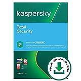 Kaspersky Total Security 2021 | 1 Dispositivo | 1 Año | PC / Mac / Android | Código de activación vía correo electrónico