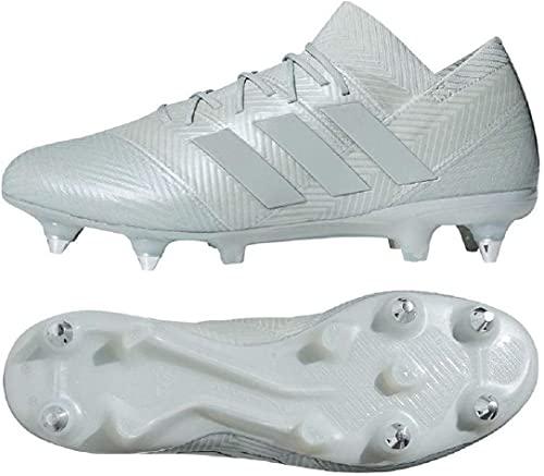 adidas(アディダス) ソフトグラウンド用 トップモデル 取り換え式サッカースパイク 29.5cm ネメシス NEMEZIZ 18.1 SG 国内正規品 D97846 アッシュシル
