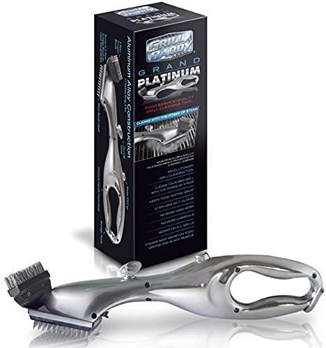 Grill Daddy GL13186C Grand Platinum Steam Grill Brush, 20', Gray