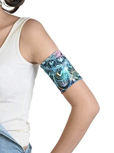 Dia-Band, brazalete de mantenimiento y protección para sensor de glucemia Freestyle Libre, Medtronic, Dexcom o Omnipod – Banda para diabética cómoda y reutilizable. (L (29-33 cm))