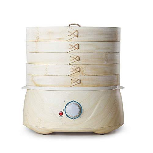 XJJZS Vapor de bambú Salud Vapor eléctrico del hogar Multifuncional de Gran...