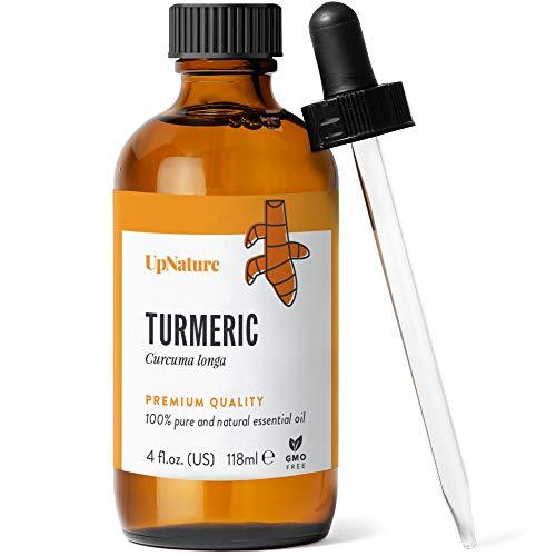 Turmeric Essential Oil 4 OZ - Turmeric Oil for Skin & Face -...