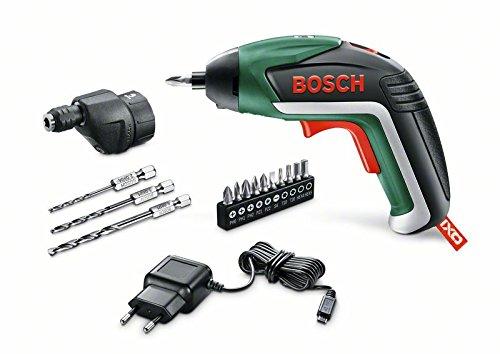 Bosch Akkuschrauber Ixo Drill Set (mit Bohraufsatz, 3,6 Volt, in Metalldose)