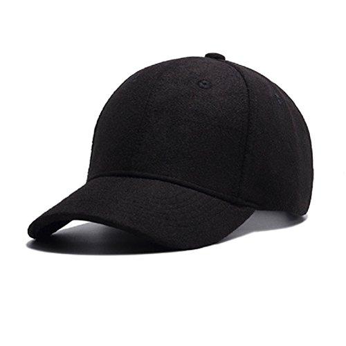 GADIEMENSS Cap for Men Hats Baseball Ball Caps Novelty Clothing for Dad Wool Apparel Fabric Hats Men Adjustable Hat Baseball Men Baseball Cap Men Baseball Hats for Men Caps and Hats Black