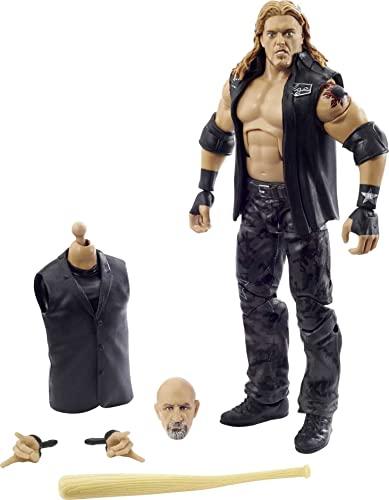 Figura de acción WWE Edge Wrestlemania con Chaleco de Entrada, Bat & Paul Ellering &...