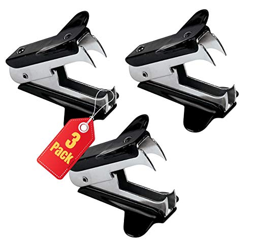 """1InTheOffice Claw Staple Remover,""""3 Pack"""""""
