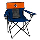 MLB Houston Astros Adult Elite Sporting Chair, Blue/Orange