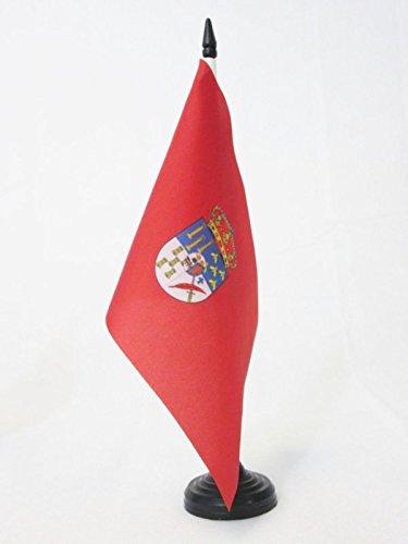 AZ FLAG Bandera de Mesa de la Provincia DE Salamanca 21x14cm - BANDERINA de DESPACHO Salamanca ENCastilla Y LEÓN 14 x 21 cm