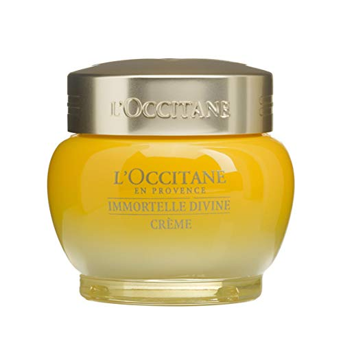L'Occitane Anti-Aging Divine Cream for a Youthful and Radiant Glow, 1.7 oz