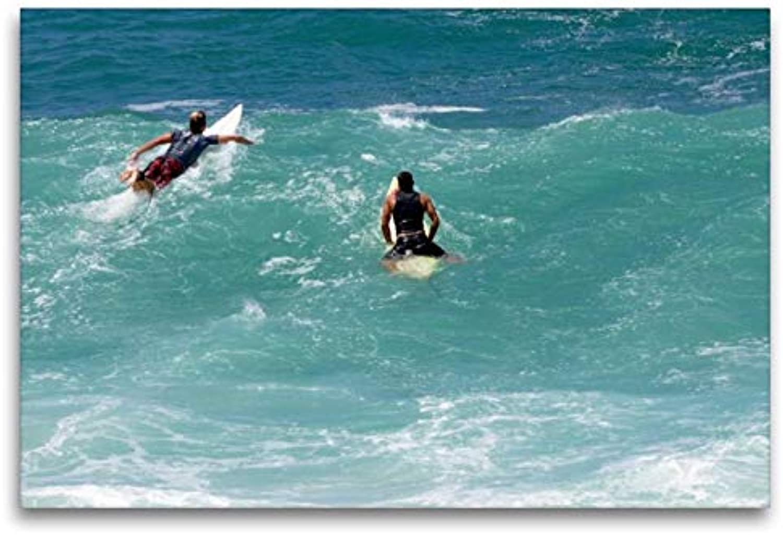 Calvendo Surfeur Devant Hawaii, 120 x 80 cm