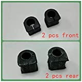 Accesorios del Coche estabilizador de buje CC29-34-156 C243-28-156 for Mazda 5 CR 2007-2010 (Color : 1 Car Set 4 Pieces)