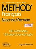 Méthod' Français Seconde/Première - Nouveaux programmes