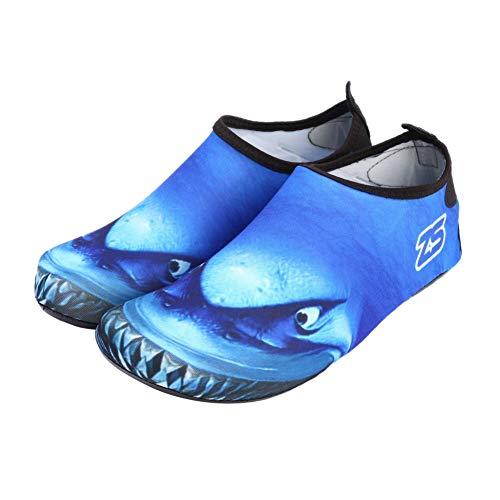 EFINNY Hombres Mujeres Piel Zapatos para el Agua Calcetines de Playa Yoga Ejercicio Piscina Natación Resbalón en el Surf Zapatos de Buceo para el Agua Descalzo