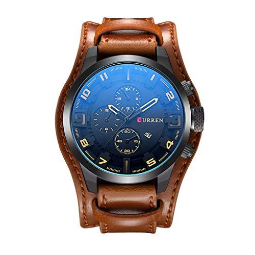 Reloj de pulsera de Fashi, de acero inoxidable y acero inoxidable YBN Ybn