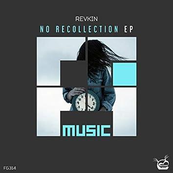 No Recollection EP