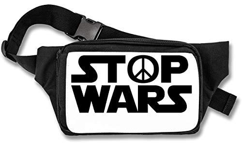 Stop Wars Hippie Peace Black Logo heuptas