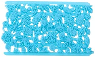 S.Han Quilt Leaf Cutter Plastic Fondant Mould Cookie Cutter gumpaste Sugarcraft Cake Decorating Tools