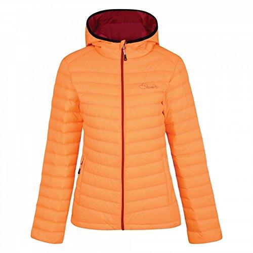 Dare 2b - Doudoune à Capuche DRAWDOWN - Femme (FR 40) (Orange)