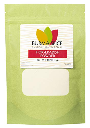 Horseradish Powder | Hot, Spicy Powder | Great for Uncooked Sauces 4 oz.