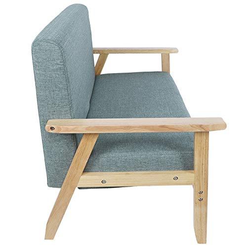 Omabeta Cómodo sofá de salón Muebles para el hogar Sofá Duradero Resistente al Desgaste para Sala de Estar Dormitorio habitación de Invitados