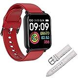 R7 Smart Watch Men, IP68 A Prueba De Agua B57 Pro Ejercicio Monitor De Ritmo Cardíaco para Las Señoras Tracker Smartwatch para Android iOS PK W4 P8,M