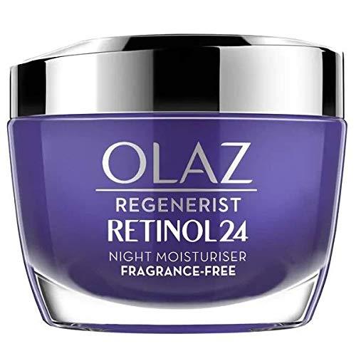 Olaz Retinol24 Feuchtigkeitsspendende Nachtcreme mit Retinol und Vitamin B3, 160 g