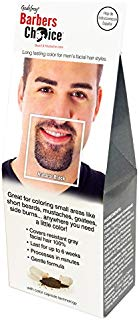 Godefroy Barbers Choice Beard and Mustache Color Single Application Kit, Natural Black