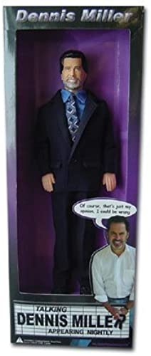 Dennis Miller Talking Action Figure from the O'Reilly Factor by Republicans