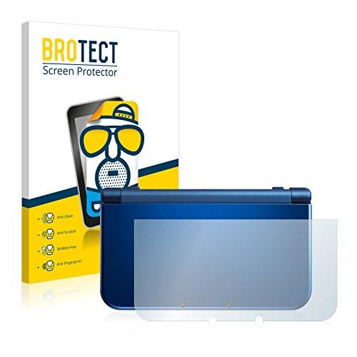 brotect Pellicola Protettiva Opaca Compatibile con Nintendo New 3DS XL (abitazioni) Pellicola Protettiva Anti-Riflesso (2 Pezzi)