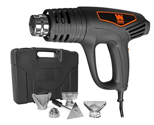 WEN 2020 Dual-Temperature 1500W Heat Gun Kit
