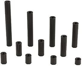 M3 Round Black Aluminum Socket Head Cap Screws - 4.5mm Thread Length
