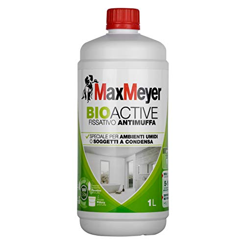 MaxMeyer Fissativo Antimuffa all'acqua per interni Bioactive Incolore, 1 L