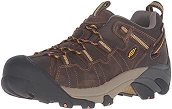 KEEN Men's Targhee II Hiking Shoe, Cascade Brown/Golden Yellow - 10.5 D(M) US