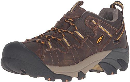 KEEN Men's Targhee II Hiking Shoe, Cascade Brown/Golden Yellow - 11.5 D(M) US
