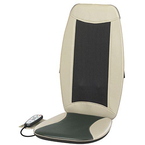 Health and Wellness MB4140 - Masajeador de espalda Shiatsu con función de calor