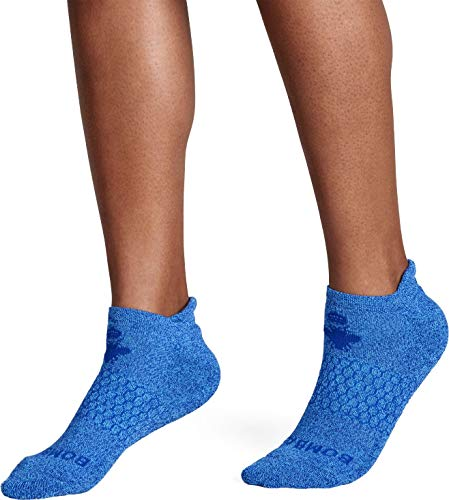 Bombas Women's Marls Ankle Socks, (Lagoon Blue, Medium)