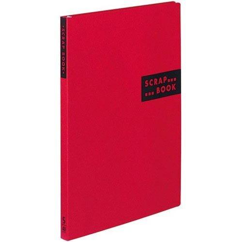 コクヨ スクラップブックSスパイラルとじ台紙40枚赤10冊