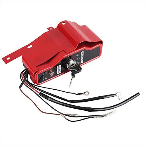 Elektrische ontstekingsschakelaar + 2 sleutelpaneel voor Honda GX340 GX390 11HP 13HP 15HP 16HP Benzinemotor Waterpomp Onderdelen Kit