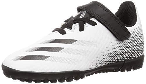 adidas X GHOSTED.4 H&L TF, Zapatillas de fútbol, FTWBLA/NEGBÁS/Plamet, 38 EU
