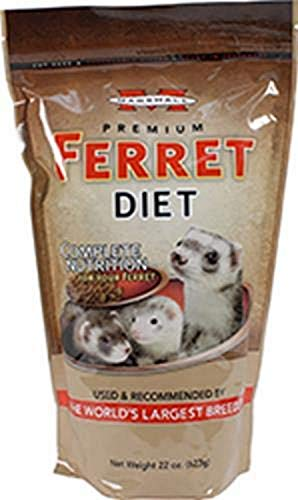 Marshall Premium Ferret Diet, 22-Ounce, Small