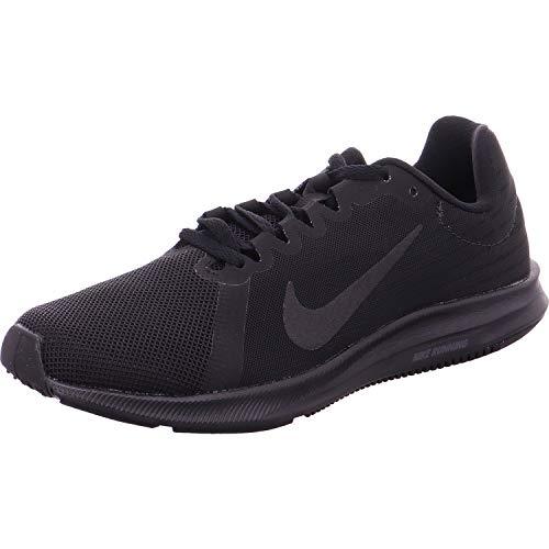 Nike Wmns Downshifter 8, Scarpe Running Donna, Nero (Black/Black 002), 36.5 EU