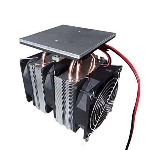 WOSOSYEYO 12V 240W Peltier Chip semiconductor Placa de refrigeración refrigerador Grande Power Plate refrigeración asistida por Ordenador (Negro)