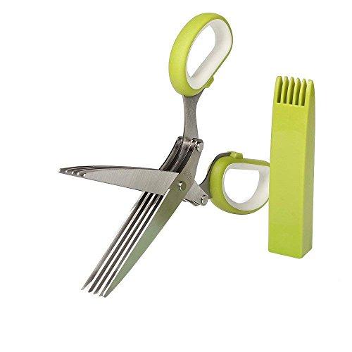 VOFO Herb Scissors Stainless Steel Multipurpose Kitchen Shear
