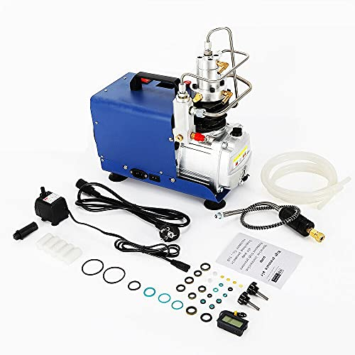Compresor de aire eléctrico de alta presión, bomba de compresor de 4500 psi 30 Mpa con puerto de carga, bomba de aire de alta presión PCP